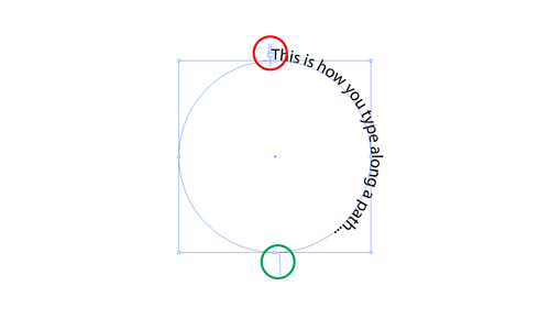 Illustrator Tutorial Type On A Path Wrapping Text Around A Circle