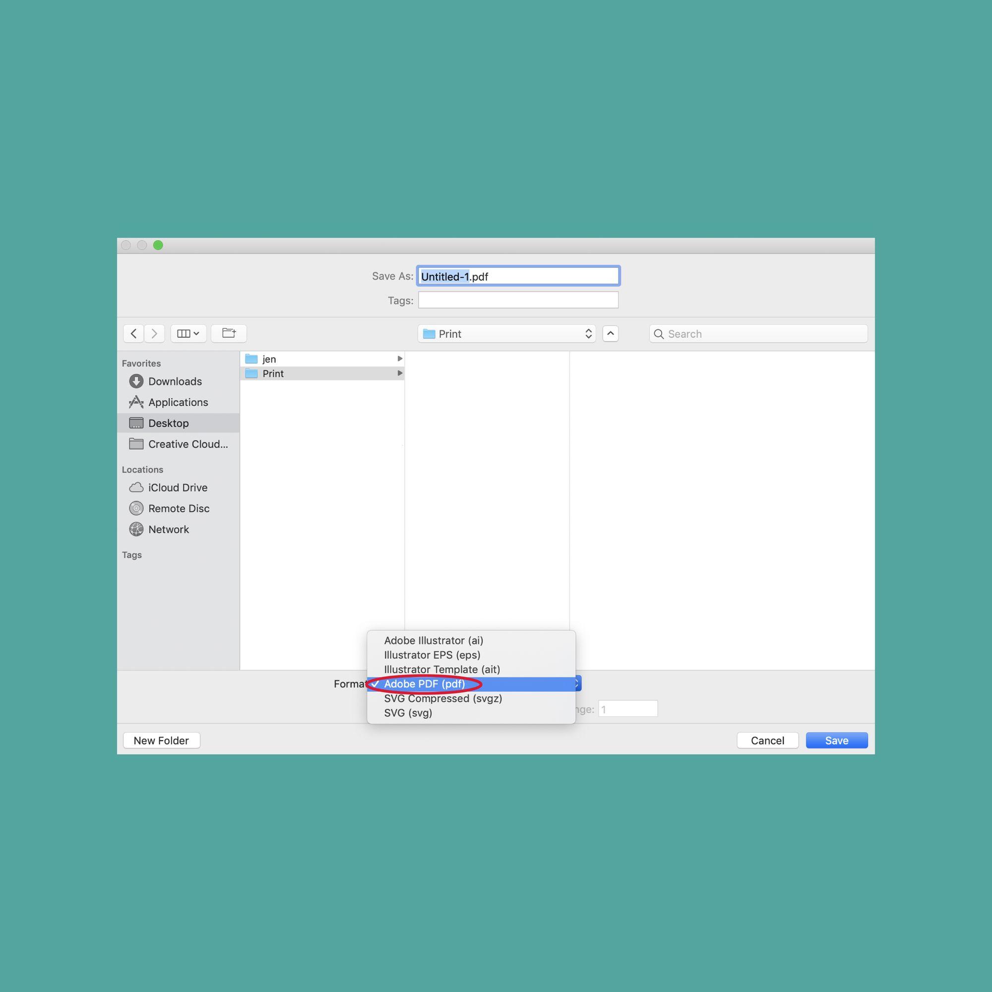 make pdf smaller illustrator
