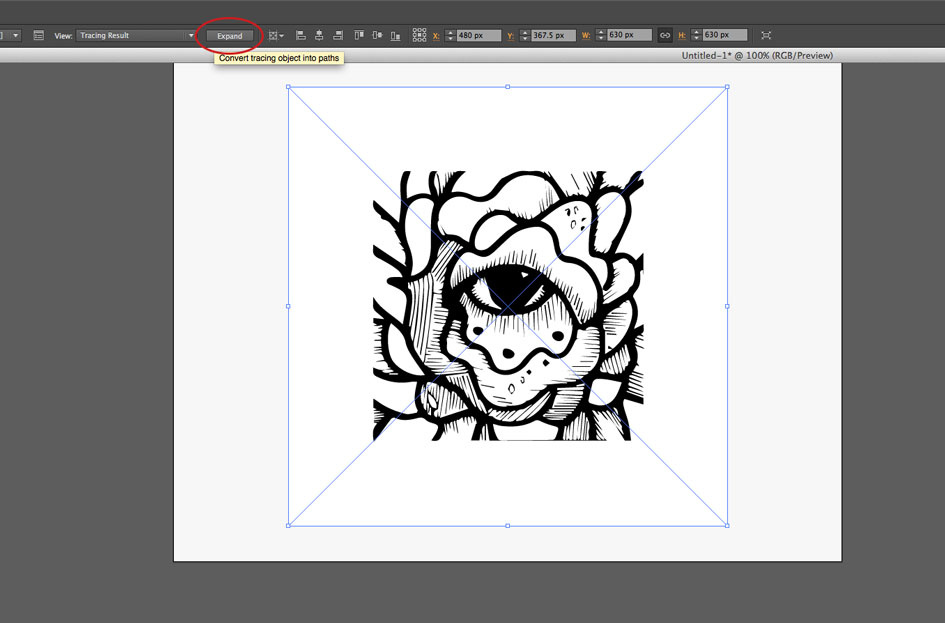 How To Turn Drawings Into Graphics Using Illustrator