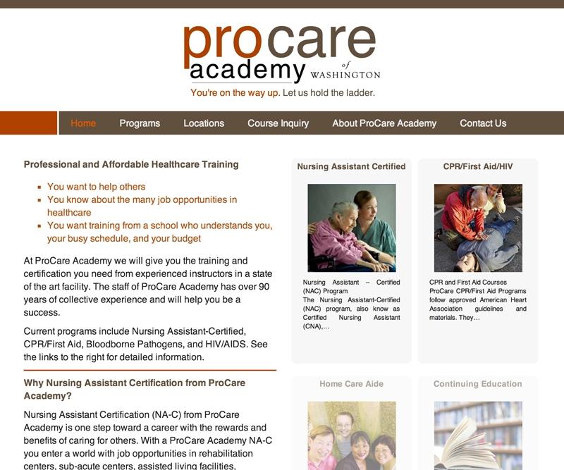 Procare Academy Of Washington Y Designs Inc