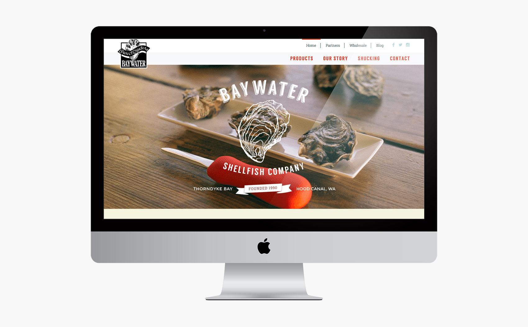 Baywater Shellfish Home Page