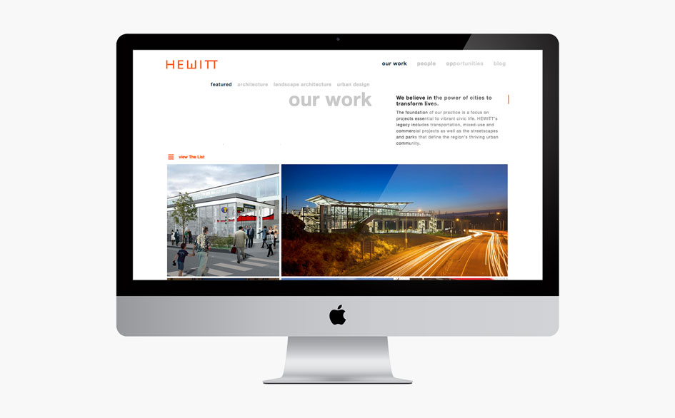 Hewitt Our Work Page