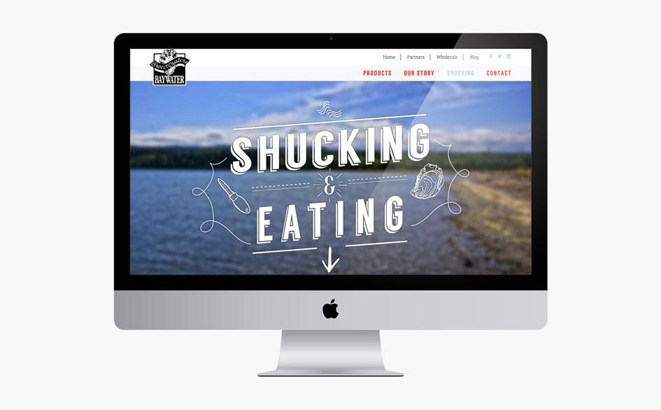 Baywater Shellfish Shucking and Eating Page