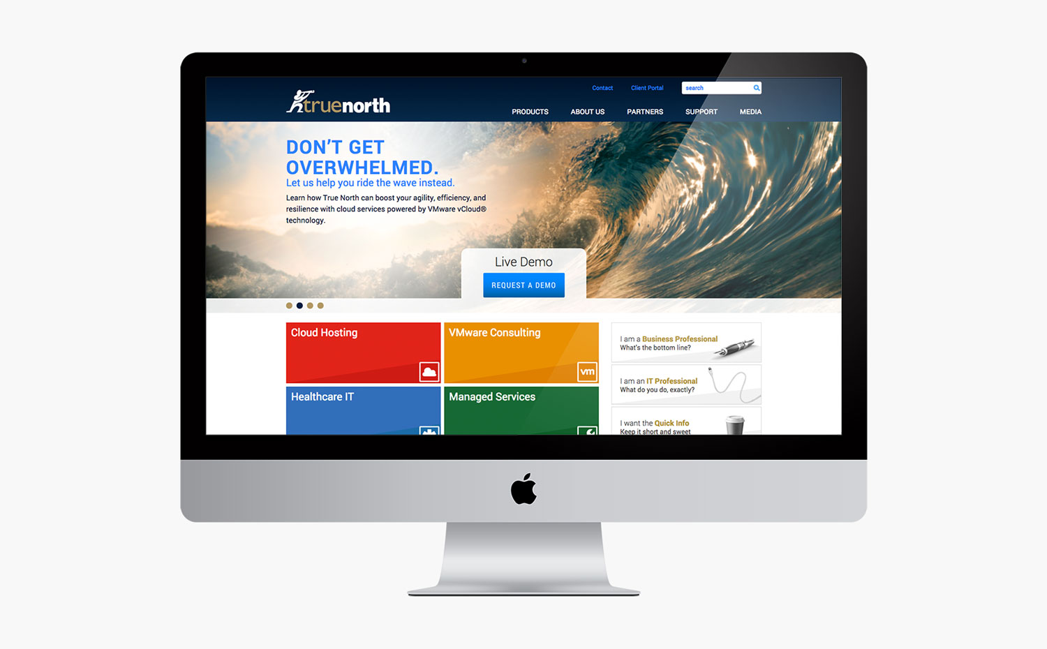 True North Landing Page