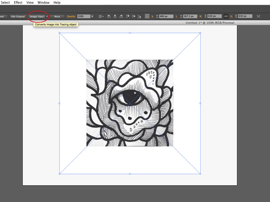 How To Turn Drawings Into Graphics Using Illustrator - Y-Designs Inc