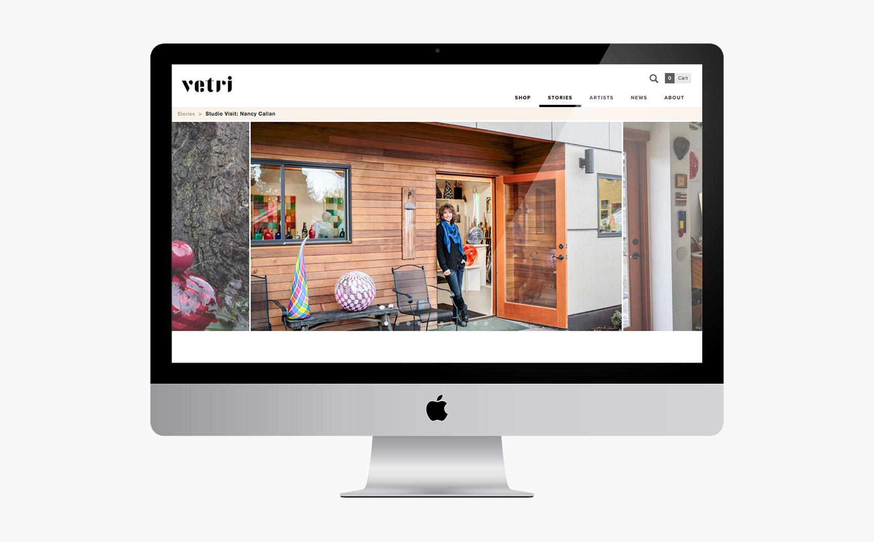 Vetri Story Page