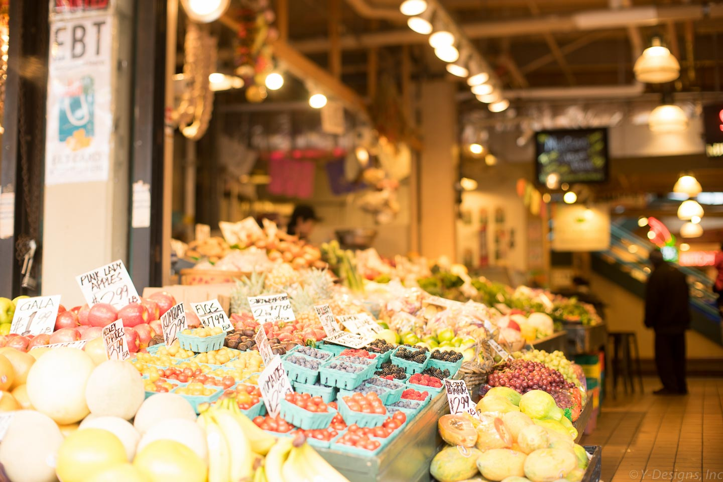 Pike Place Market – Veggies and Fruits
