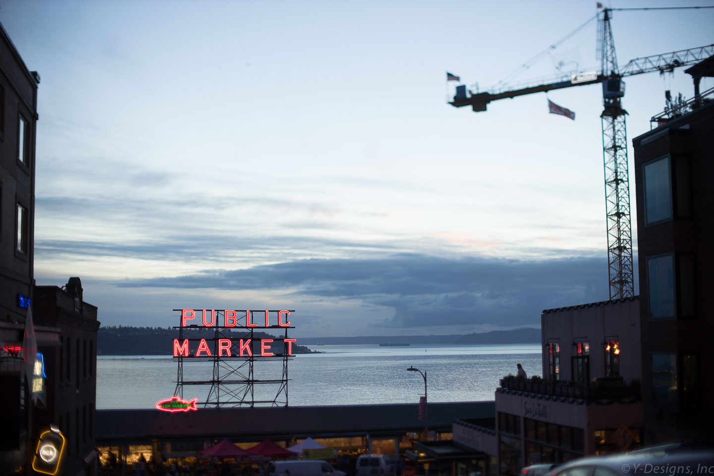 Pike Place Market – Public Market Sign