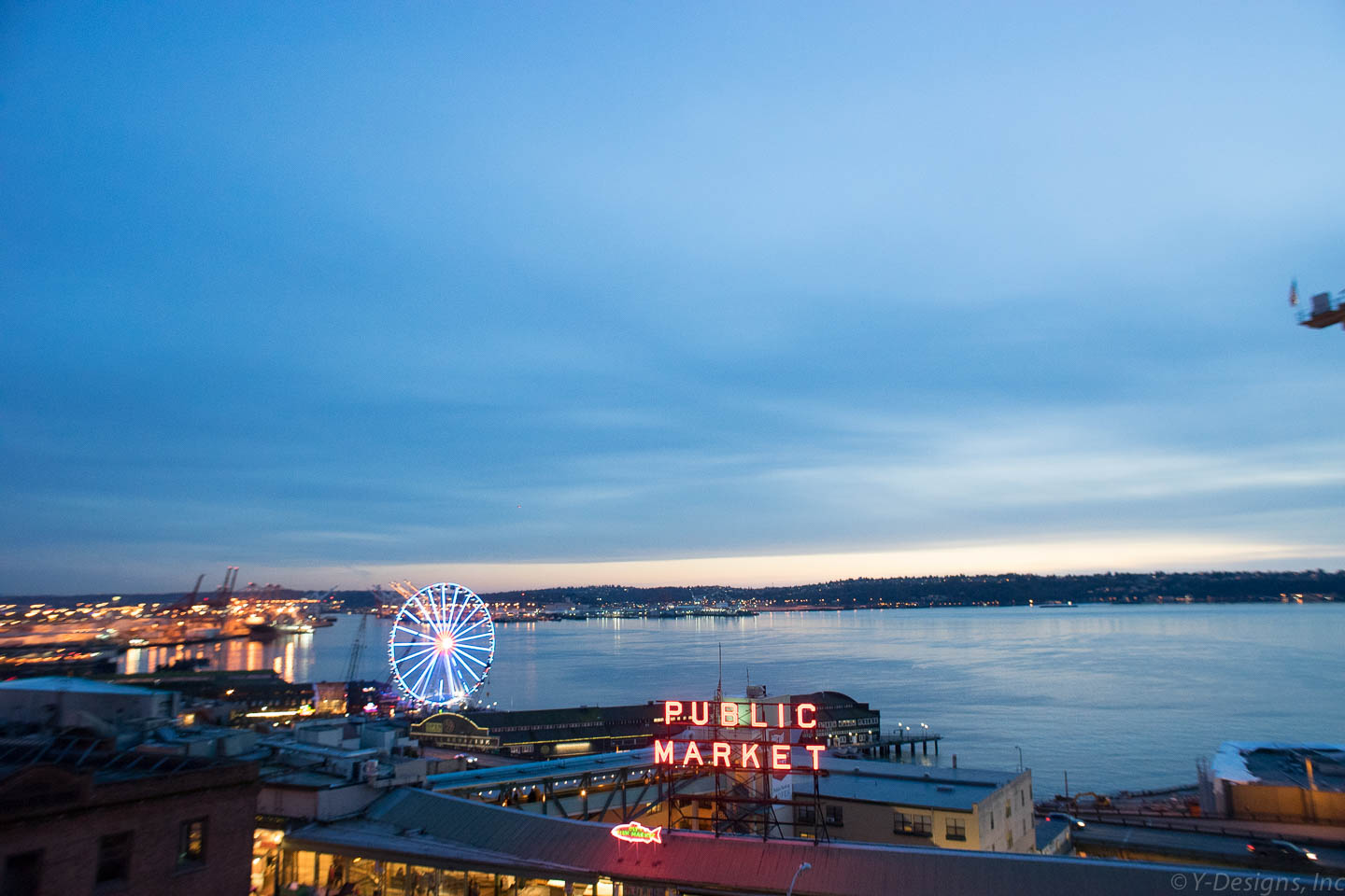 Pike Place Market and the Wheel