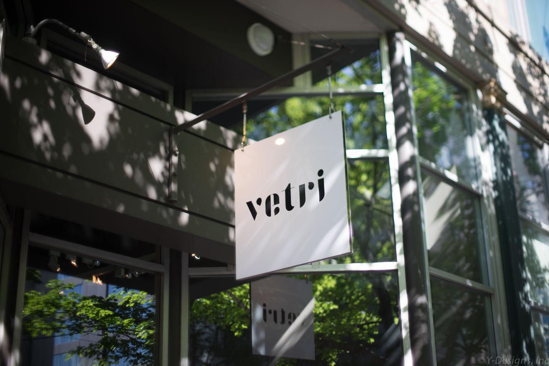 Vetri – New logo, New signage