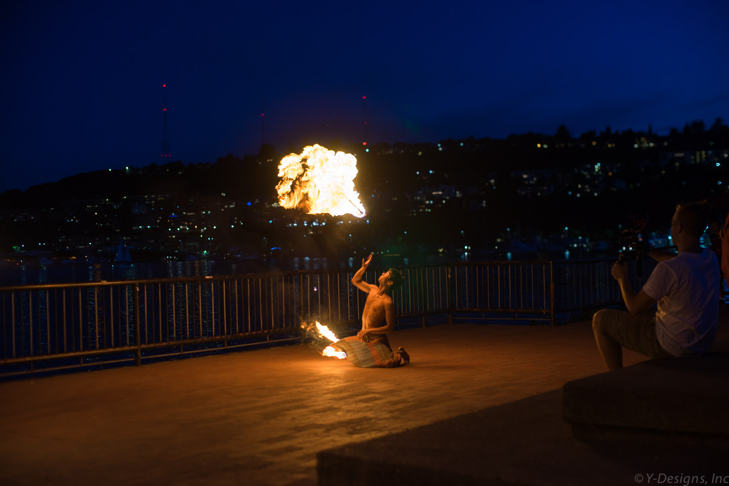 Gasworks – Fire dancer