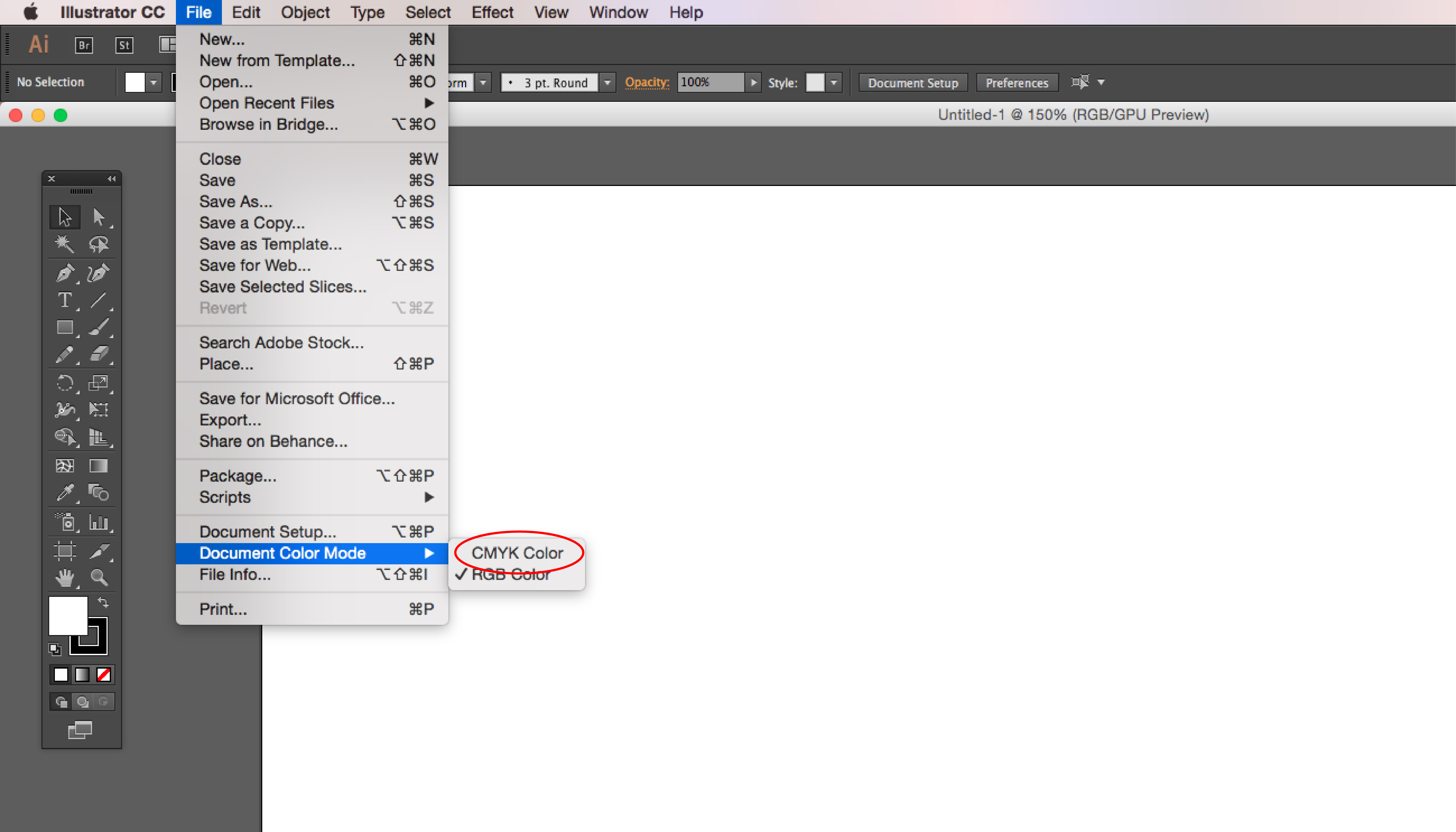How To Export For Print Using Illustrator Saving File Format