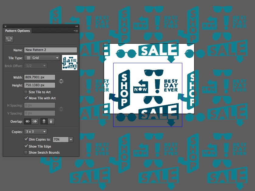 how to design patterns in illustrator y designs inc